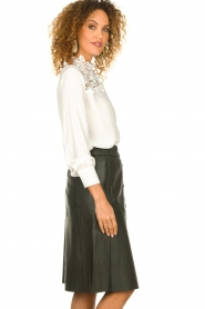 Set |  Top with lace details Ella | white  | Picture 5