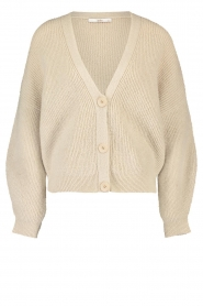 Aaiko |  Knitted cardigan Malani | natural  | Picture 1