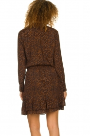 Set |  Blouse with leopard print Tigra | brown  | Picture 6
