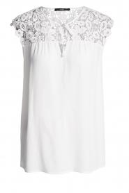 Set |  Lace top Ella | white  | Picture 1