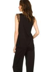 Set |  Luxury laced top Casey  | black  | Picture 5