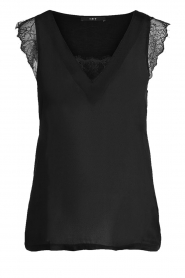 Set |  Luxury laced top Casey  | black  | Picture 1