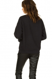 Set |  Sweater with text print Cosmos | black  | Picture 6