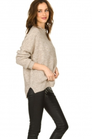Set |  Sweater with high neck Josie | brown  | Picture 5