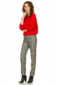 Set |  Knitted sweater Penelope | red  | Picture 3