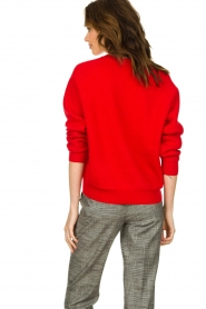 Set |  Knitted sweater Penelope | red  | Picture 5