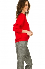 Set |  Knitted sweater Penelope | red  | Picture 4