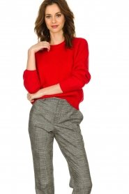 Set |  Knitted sweater Penelope | red  | Picture 2