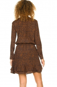Set |  Skirt with leopard print Tigra | brown  | Picture 6