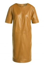 Set    Leather dress Jess   brown    Picture 1