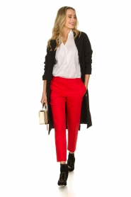 Set |  Classic trousers Lisa | red  | Picture 3