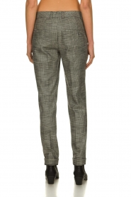 Set |  Checkered trousers Livia | black  | Picture 5