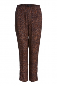 Set |  Pants with leopard print Tigra | brown  | Picture 1
