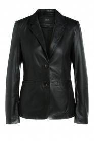 Set |  Leather blazer Kiki | black  | Picture 1