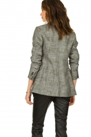 Set |  Checkered blazer Nina | grey  | Picture 6