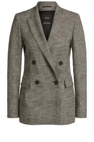 Set |  Checkered blazer Nina | grey  | Picture 1