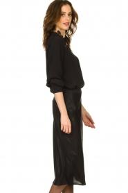 Set |  Shiny midi skirt  Sacha | black  | Picture 4