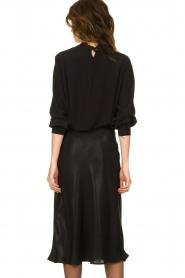 Set |  Shiny midi skirt  Sacha | black  | Picture 5