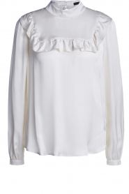 Set |  Blouse with ruffles Madame | white  | Picture 1