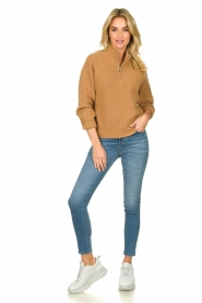 Set |  Sweater Jaydee | camel  | Picture 3