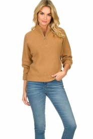 Set |  Sweater Jaydee | camel  | Picture 2
