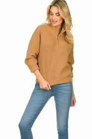 Set |  Sweater Jaydee | camel  | Picture 4