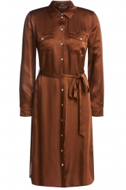 Set |  Blouse dress Stacy | brown  | Picture 1