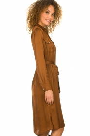 Set |  Blouse dress Stacy | brown  | Picture 4