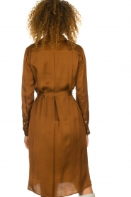 Set |  Blouse dress Stacy | brown  | Picture 5