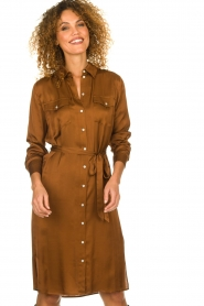 Set |  Blouse dress Stacy | brown  | Picture 2