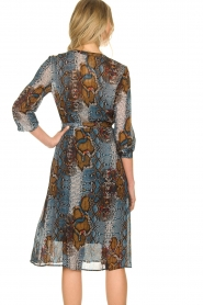 Set |  Dress with snake print Sizzly | blue  | Picture 6