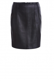 Set |  Leather skirt Butter | black  | Picture 1