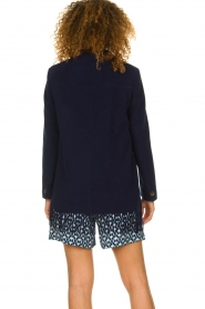 Set |  Coat with fringe Milly | blue  | Picture 7
