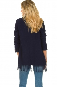Set |  Coat with fringe Milly | blue  | Picture 6
