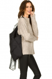 Set |  Down jacket Shimmer | silver  | Picture 7