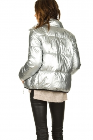 Set |  Down jacket Shimmer | silver  | Picture 6