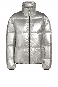 Set |  Down jacket Shimmer | silver  | Picture 1