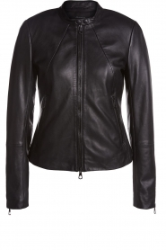 Set |  Leather jacket Nelia | black  | Picture 1