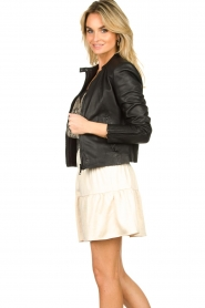 Set |  Leather jacket Nelia | black  | Picture 6