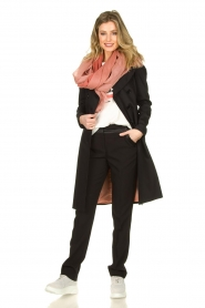 Set |  Trenchcoat with belt Phoebe | black  | Picture 3