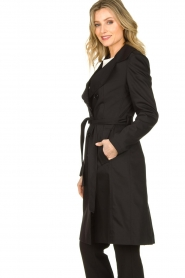 Set |  Trenchcoat with belt Phoebe | black  | Picture 5