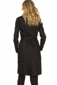 Set |  Trenchcoat with belt Phoebe | black  | Picture 6