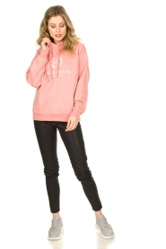 Set |  Sweater with print Urban | pink  | Picture 3