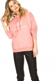 Set |  Sweater with print Urban | pink  | Picture 4