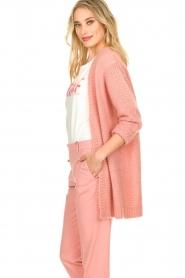 Set | Gebreid vest Ribble | roze   | Afbeelding 5