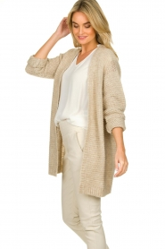 Set |  Soft knitted cardigan Ribble | naturel  | Picture 5