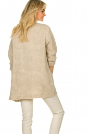 Set |  Soft knitted cardigan Ribble | naturel  | Picture 6