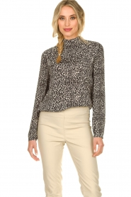 Set |  Blouse with leopard print Tigra | animal print  | Picture 6