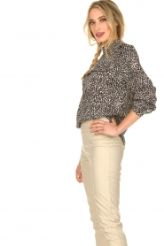 Set |  Blouse with leopard print Tigra | animal print  | Picture 4
