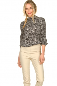 Set |  Blouse with leopard print Tigra | animal print  | Picture 2